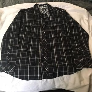 Burnside long-sleeve dress shirt